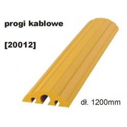 Mostek / próg kablowy - 1200 /żółty