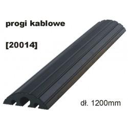 Mostek / próg kablowy - 1200 /czarny