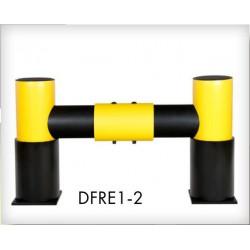 Bariera odbojowa z kołnierzem DFRE1-2