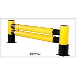 Bariera odbojowa z kołnierzem DFRE2-4