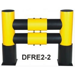 Bariera odbojowa z kołnierzem DFRE2-2