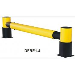 Bariera odbojowa z kołnierzem DFRE1-4