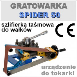 Gratowarka do wałków SPIDER 50