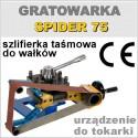 Gratowarka do wałków SPIDER 75