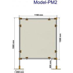 Przegroda ochronna stanowiskowa PM2