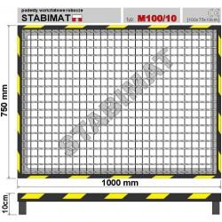 Podesty warsztatowe metalowe M100/10