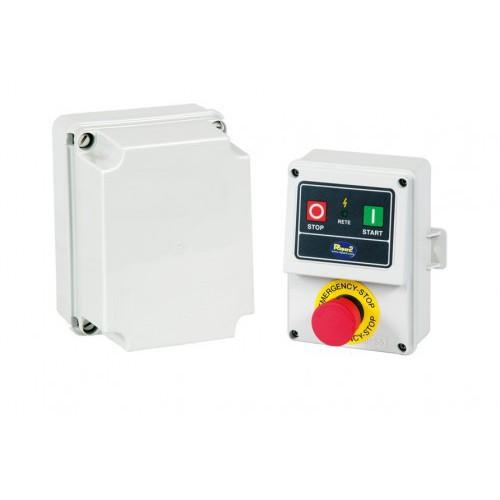 Niskonapięciowy 24V wyłącznik bezpieczeństwa do maszyn i urządzeń - 24HP (18KW) 38A