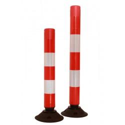 Słupki elastyczne / uchylne SB* - czerwone
