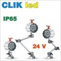 lampy do obrabiarek CLIK led 24V