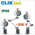 lampy CLIK led: 100÷240V AC