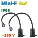 lampy stanowiskowe punktowe Mini-F 230V