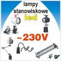 Lampy stanowiskowe - 230V