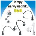 Lampy maszynowe na wysięgniku